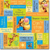 12x12 Disney Tigger Scrapbook Papers - 5 Sheets