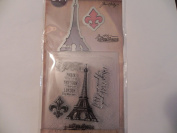 Sizzix Tim Holtz Alterations Stamp, Die & Texture Fade - Paris Adventure