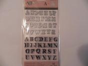Art C Stamp & Cut ~ Mini Alphabet