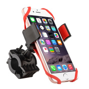 INSTEN Universal Bicycle/ Motorcycle Phone Holder with Secure Grip for Smartphones