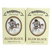 Barbero Alum Block 80ml / 75 g Pack of 2