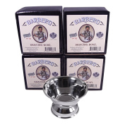 Barbero Deluxe Stainless Steel Shaving Bowl No.02