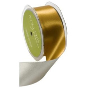 6.4cm Wide Ribbon Gold and Silver Reversible