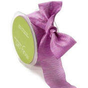 1.6cm Wide Ribbon Purple and Pink Two Tone