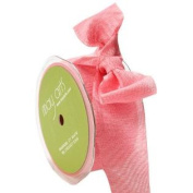 1.6cm Wide Ribbon Rose and Pink Two Tone