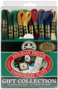DMC 117F25-HDAY Embroidery Holiday Decor Floss Pack Assorted Colour 8.7-Yard 30/Pack