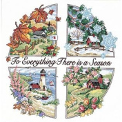 Dimensions Needlecrafts Stamped Cross Stitch A Season For Everything