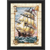 Dimensions Needlecrafts Counted Cross Stitch Voyage At Sea