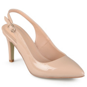 Journee Collection Women's 'Carol' Almond Toe Slingback Pumps