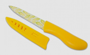 Non-Stick Utility Knife with Sheath - Corn