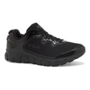 Women's Fila Memory Fresh Start SR Shoe Black/Black/Metallic Silver