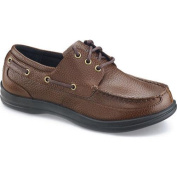 Men's Apex Classic Lace Boat Brown Full Grain Leather