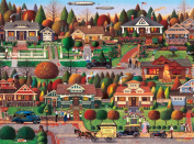 Buffalo Games Labour Day in Bungalow Ville by Charles Wysocki Jigsaw Puzzle
