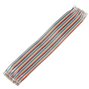 (6010-u) 40 X 30CM DUPONT REED JUMPER WIRE CABLE FEMALE TO FEMALE