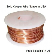 18 Ga Copper Wire -Dead Soft-30m -0.2kg. Spool