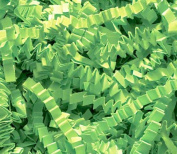 0.2kg Crinkle Cut Paper Shred - Lime