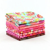 Eden Tourmaline Fat Quarter Bundle (TP.ED.TO.8FQ) by Tula Pink for Freespirit