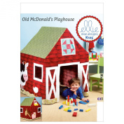 Kwik Sew Patterns K0125 Barn Playhouse Sewing Template, One Size