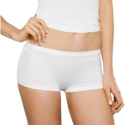 Fruit of the Loom Women's Assorted Colours Ultra Seamless Boy Shorts