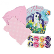 My Little Pony Friendship Is Magic Thank You Cards