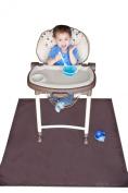 Tarpy Highchair Splat Mat, Activity & Cleanup Canvas