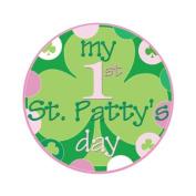 Mumsy Goose Baby Girl My First St. Patricks Day Sticker