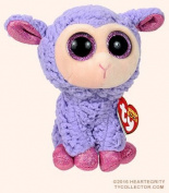 "New TY Beanie Boos Cute Lavender the lamb Plush Toys 6"" 15cm Ty Plush Animals Big Eyes Eyed Easter Purple Sheep Stuffed Animal Soft Toys for Kids Gifts"
