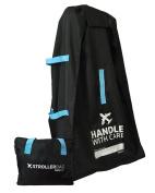 Bububee 'Elua XL Double Stroller Gate Cheque Travel Bag