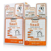 3Step Bergamo Mask Pack - Snail, 10pcs