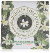 Marsiglia Toscano Triple Milled Vegetal Soap - Muschio Bianco, 200g210ml
