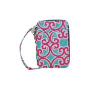 Quilted Geometric Themed Prints NGIL Quilted Wristlet Wallet