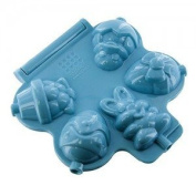Sweet Creations Spring Shapes Cake Pop Press Mould, Blue