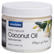 Woolzies 100-percent Pure Unrefined Cold-Pressed Natural Coconut Oil