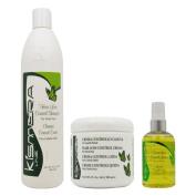 Kismera Hair Loss Control Shampoo + Cream + Lotion Set