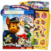 Paw Patrol Imagine Ink Book and Sticker Pack Set
