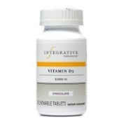 Integrative Therapeutics - Vitamin D3 5,000 IU - Chocolate - 90 chew. tabs (FFP) Thank you for using our service