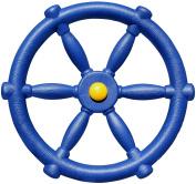 Jungle Gym Kingdom Pirate Ship Steering Wheel - Blue