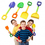 Toy Cubby Children's Sand and Soil Gardening Tool Playset
