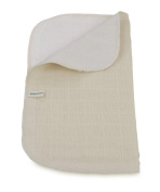organic cotton face cloth - two sided
