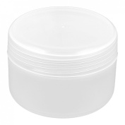 sourcingmap Plastic Cosmetic Empty Jar Face Cream Skin Lotion Bottle 100g Clear