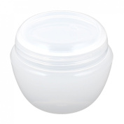 sourcingmap Plastic Cosmetic Empty Jar Pot Face Cream Skin Lotion Holder 50g Clear