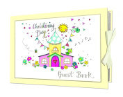 Rachel Ellen Christening Guestbook - Christening /Naming Day Ceremony