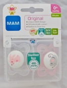 MAM Original Soother Twin Pack - 0m+