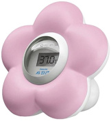 Philips Avent SCH550/21 Bath and Room Thermometer Pink