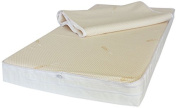 NightyNite Sleepeezi Easychange Foam Cot Mattress with 2 Luxurious Coolmax and Microfibre Toppers and Waterproof Protection