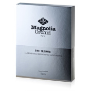 Magnolia Orchid 3-in-1 Silk Mask