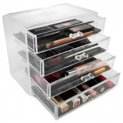 Acrylic Drawer Makeup Organiser with 4 Drawers
