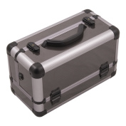 3-tiers Extendable Trays Professional Cosmetic Makeup Train Case