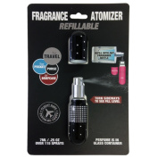 Refillable Fragrance Deluxe Crystal Sexy Pink 5ml Atomizer