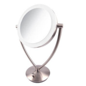 Ovente 19cm Dimmable LED Lighted Tabletop Vanity Mirror